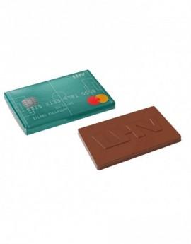 Čokoládová kreditní karta