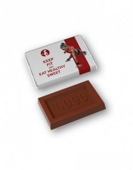 Mini logo bar 10 g čokoláda