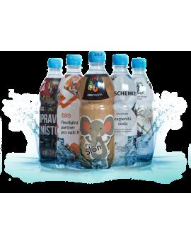 Voda 500 ml - vlastní sleeve
