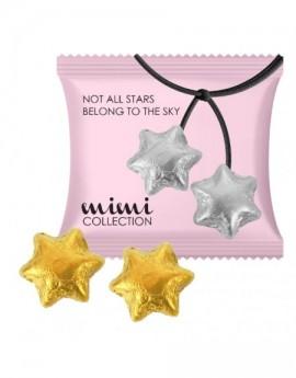 Čokoládové hvězdy v sáčku