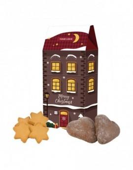 Domek se sušenkami ve tvaru...