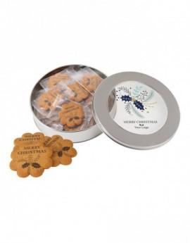 Sušenky s dekorací v plechovce