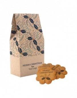 Sušenky s dekorací v krabičce